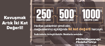Kiğılı 2 Katı Çek Kampanyası Kampanyası