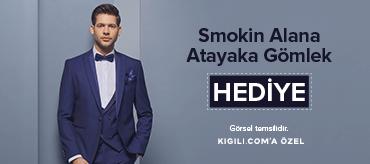 Kiğılı Smokin Alana Ata Yaka Gömlek Hediye Kampanyası