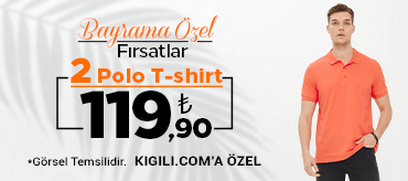 Kiğılı 2 Polo Tişört 119,90 TL Kampanyası
