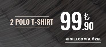 Kiğılı 2 Polo Tişört 99,90 TL Kampanyası