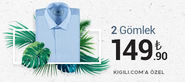 Kiğılı 2 Gömlek 149,90 TL Kampanyası
