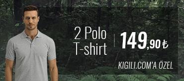Kiğılı 2 Polo Tişört 149,90 TL Kampanyası