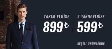 Kiğılı 2. Takım Elbise 599 TL Kampanyası