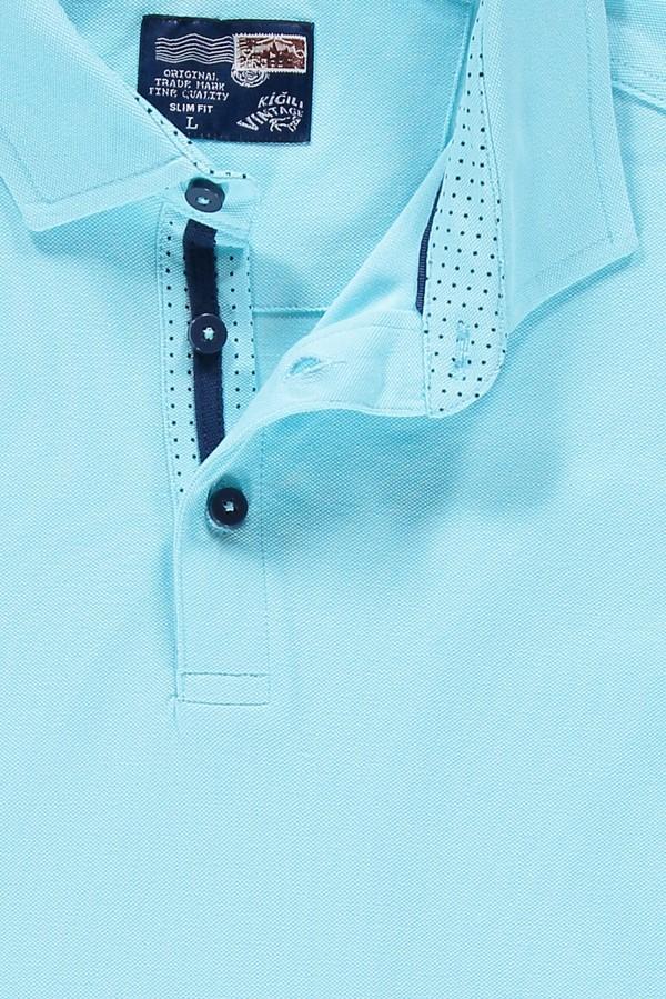 Yarım İtalyan Yaka Slim Fit Tişört