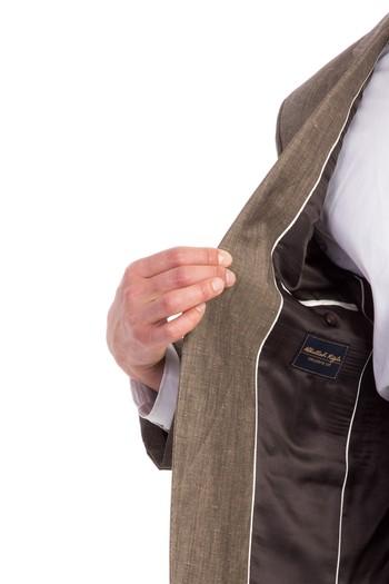 Erkek Giyim - Keten Takım Elbise