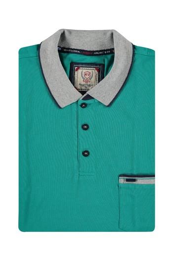 Erkek Giyim - King Size Polo Yaka Tişört
