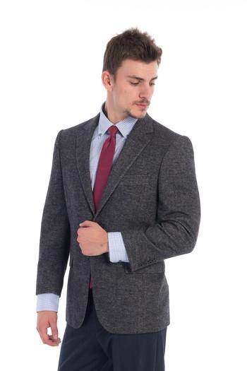 Erkek Giyim - Balıksırtı Klasik Ceket