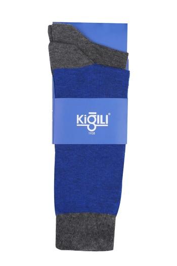 Erkek Giyim - 2'li Düz Çorap