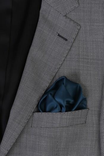 Erkek Giyim - Düz Saten Mendil