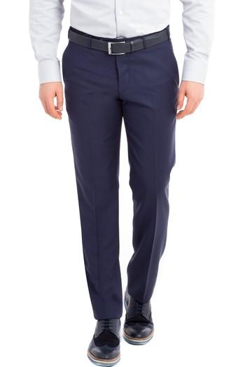 Erkek Giyim - Slim Fit Yün Pantolon