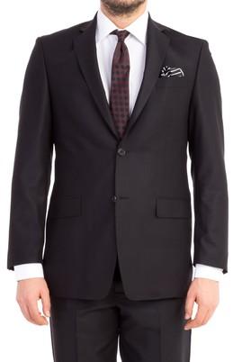 Erkek Giyim - Siyah 48 Beden Klasik Takım Elbise