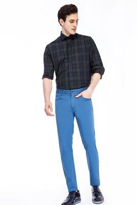 Erkek Giyim - Turkuaz 46 Beden Slim Fit Pantolon