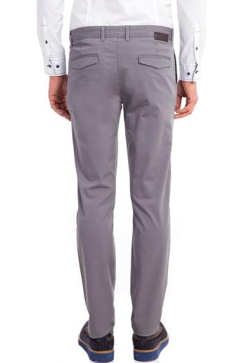 Erkek Giyim - Slim Fit Baskılı Spor Pantolon
