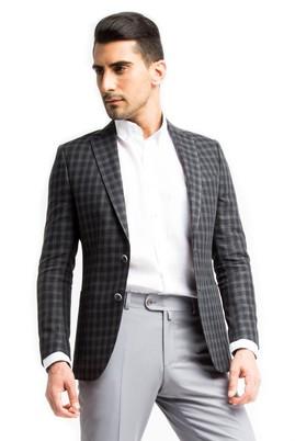 Erkek Giyim - Marengo 48 Beden İtalyan Kareli Ceket