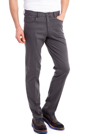 Slim Fit Tencel Pantolon