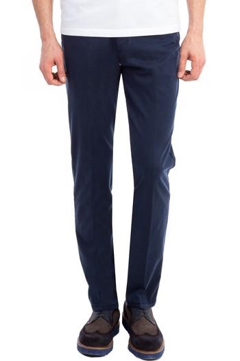 Erkek Giyim - Slim Fit Tencel Pantolon