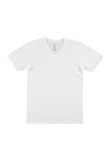 Erkek Giyim - 2'li V Yaka Fanila