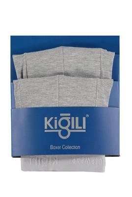 Erkek Giyim - ORTA FÜME XL Beden 2'li Düz Süprem Boxer