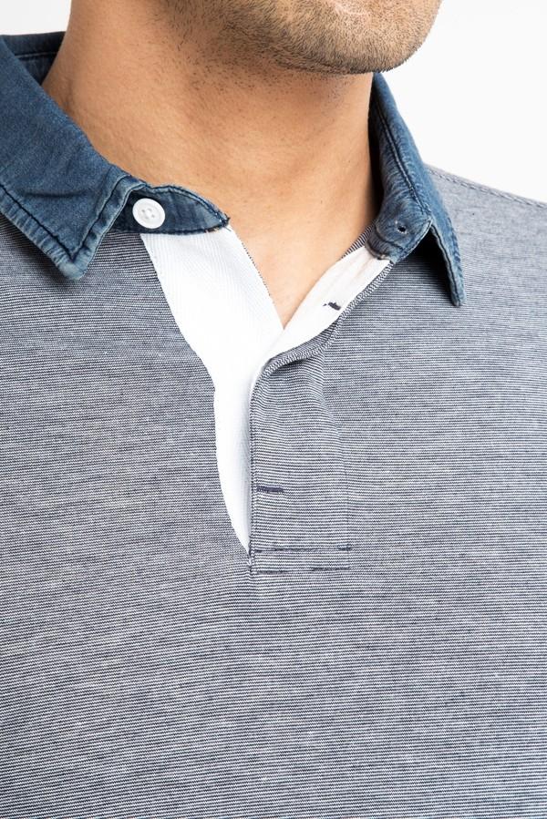 Regular Fit Denim Süprem Polo Yaka Tişört