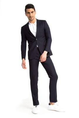 Erkek Giyim - Lacivert 46 Beden Klasik Takım Elbise