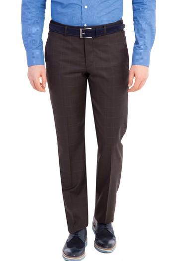 Erkek Giyim - Klasik Kareli Takım Elbise