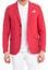 Kırmızı  Astarsız Oxford Ceket