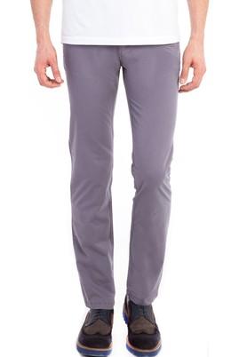 Erkek Giyim - Füme Gri 46 Beden Slim Fit Spor Pantolon