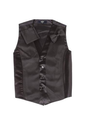 Erkek Giyim - Yelek Papyon Takımı