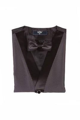 Erkek Giyim - Siyah M Beden Yelek Papyon Takımı