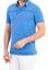 Mavi  Regular Fit Desenli Polo Yaka Tişört