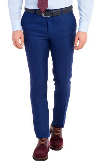 Erkek Giyim - Süper Slim Fit Astarsız Takım Elbise