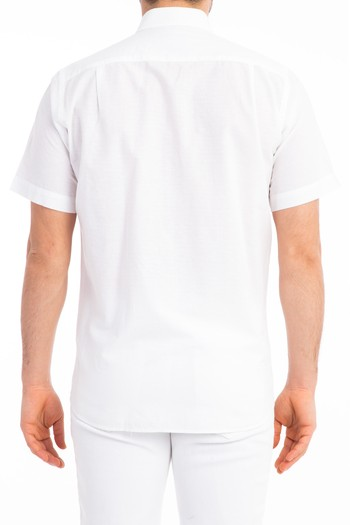 Erkek Giyim - Kısa Kol Klasik Gömlek