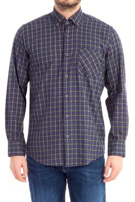 Erkek Giyim - Füme Gri XXL Beden Uzun Kol Oduncu Gömlek