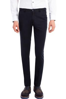 Erkek Giyim - Siyah 46 Beden Süper Slim Fit Spor Pantolon