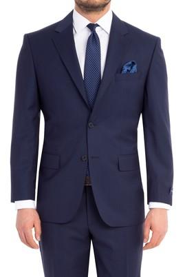 Erkek Giyim - KOYU MAVİ 58 Beden Klasik Takım Elbise