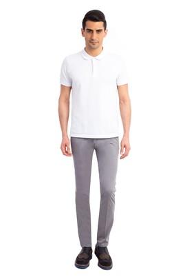 Erkek Giyim - Orta füme 50 Beden Saten Pantolon