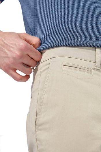 Erkek Giyim - Slim Fit Saten Pantolon
