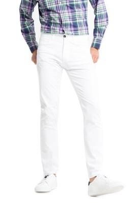 Erkek Giyim - Beyaz 52 Beden Slim Fit Pantolon