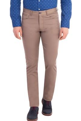 Erkek Giyim - VİZON 48 Beden Slim Fit Pantolon