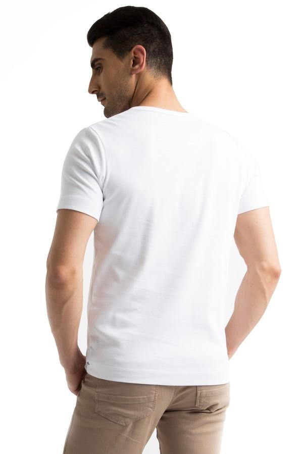 Düğmeli Yaka Slim Fit Tişört