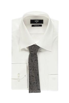 Erkek Giyim - Bordo XXL Beden Gömlek Kravat Seti