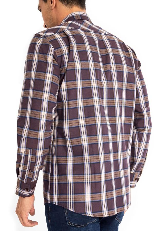 Uzun Kol Regular Fit Oduncu Gömlek