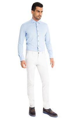Erkek Giyim - Açık Gri 48 Beden Slim Fit Spor Pantolon