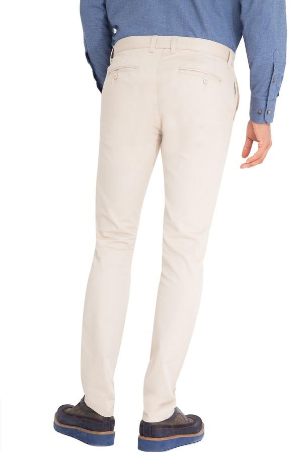 Slim Fit Desenli Pantolon