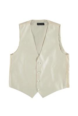 Erkek Giyim - Krem S Beden Damatlık Set