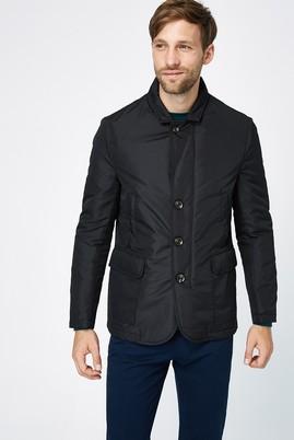 Erkek Giyim - Siyah 58 Beden Kapitone Bonded Mont