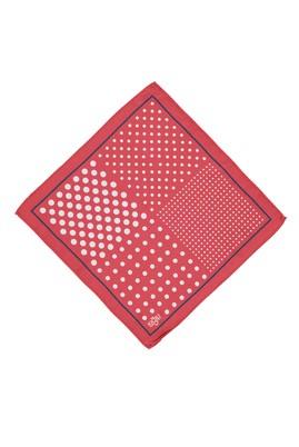 Erkek Giyim - Kırmızı STD Beden Desenli Mendil