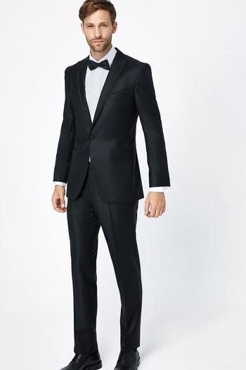 Erkek Giyim - Sivri Yaka Slim Fit Smokin / Damatlık