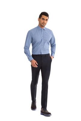 Erkek Giyim - Lacivert 52 Beden Klasik Pantolon