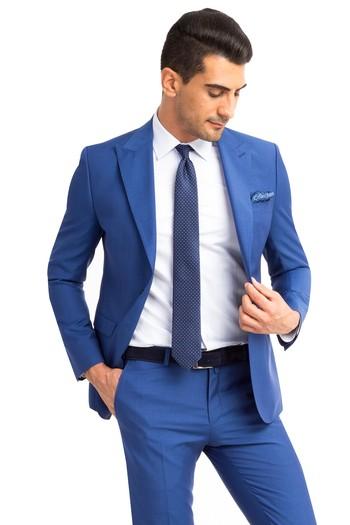 Erkek Giyim - İtalyan Çizgili Takım Elbise